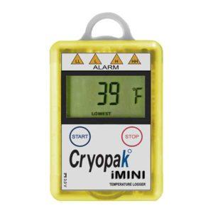 Cryopak iMini Temperature Logger