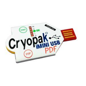 Cryopak Single Use iMini USB PDF Logger