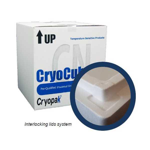 Cryopak CryoCube Molded EPS
